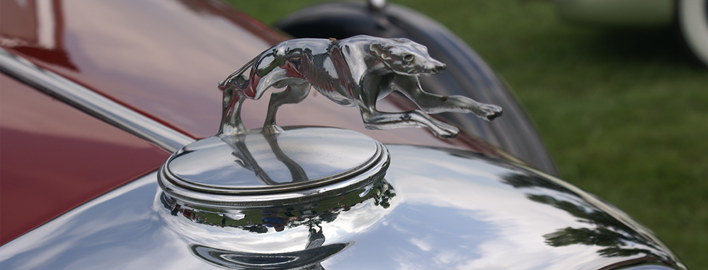 old lincoln hood ornament