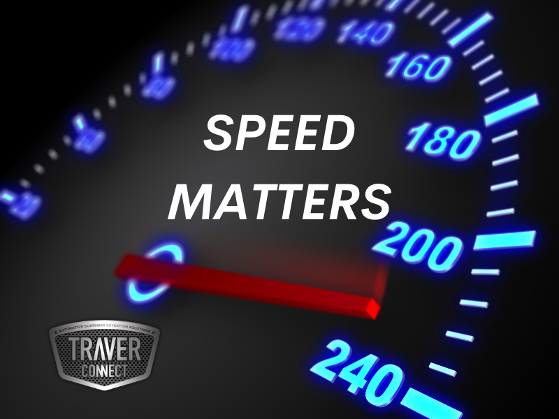 Speed Matters in Sales BDC